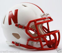 NEBRASKA CORNHUSKERS RIDDELL SPEED FOOTBALL MINI HELMET 3002083