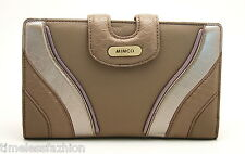 MIMCO ATLANTIS LEATHER TRAVEL WALLET IN STONE COLOUR BNWT RRP$299