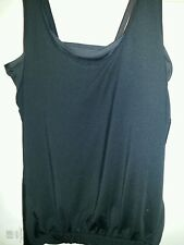 FABLETICS LUCIA 2-IN-1 TANK,   BLACK  TANK Top SIZE small NWT sold out online!!!