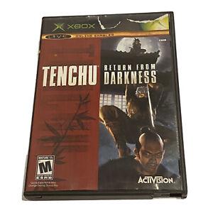 Tenchu: Return From Darkness (Microsoft Xbox, 2004) No Manual