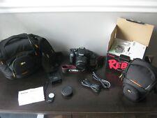 Canon EOS Rebel T2i EF-S 18-55 IS II Kit IN BOX AND 2 New Cases & Remote / NEW