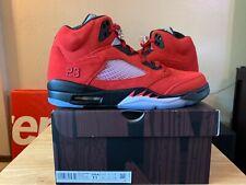 Jordan 5 Retro Raging Bull Red (2021) Size 11 Free Fast Shipping