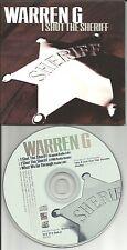WARREN G I shot the Sheriff / What we go 3TRX w/ EPMD REMIX & 2 EDITS CD single