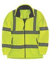 Portwest Hi Vis / Viz Fleece Jacket - F300 - Size XXL / 2XL - Mesh lining - New