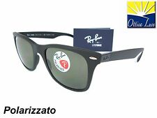 RAY BAN LITEFORCE 4195 601S/9A POLARIZZATO HI TECH Sunglass Sonnenbrille Sole