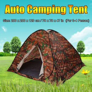 2x2x1.2M Waterproof Auto Camping Tent Easy Setup Folding Tents Outdoor Hiking