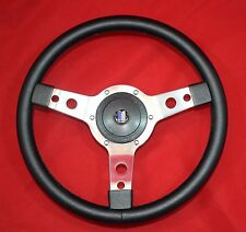 """13"""" Leather Steering Wheel & Hub for Triumph Spitfire 1962 Through 1976"""