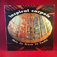 """INSPIRAL CARPETS This Is How It Feels 1990 UK 12"""" vinyl single  EXCELLENT COND"""