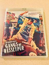 Blu-Ray Crime Saga 'Gangs Of Wasseypur' Sealed New OOP 2015 2 Disc Set