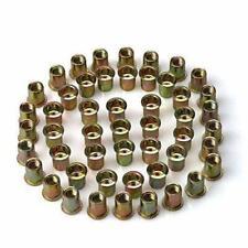 URBEST 50Pcs Steel Rivet Nut Rivnut Insert Nutsert 3/8-16 3/8-16