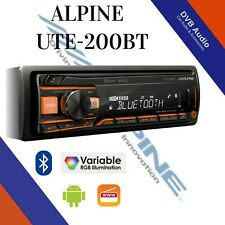 Alpine UTE-200BT Car Bluetooth Android Car Stereo AUX USB New In #1 Seller