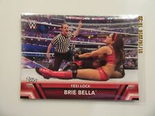 2017 Topps WWE Women's Division Roster Finishers - BRIE BELLA YES LOCK F-5