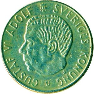 SWEDEN 1 KRONA 1969-2013  / CHOOSE YOUR DATE!  / ONECOIN/BUY!
