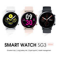 Microwear SG3 Smart Watch ECG Blood Pressure Oxygen Heart Rate Monitor Free Gift
