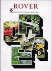 1974 Rover car brochure: Rover 2200 & 3500 (P6 models) & Range Rover