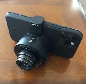 Sony Cyber-shot DSC-QX10 Digital Camera - Black - WiFi - Previously Owned