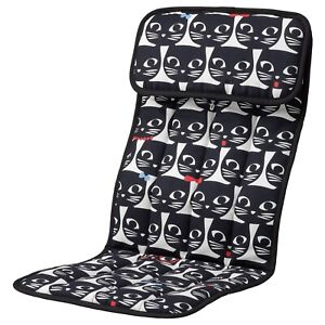 IKEA POANG POÄNG Children's Kids Armchair Cushion Gisslarp/Cat Pattern Brand New