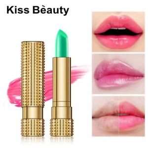 Aloe Vera temperature moisturizing lipstick long lasting makeup color mood chang