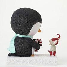 New ListingEnesco Stacey Yacula The Sweetest Season Penguin & Mouse Figurine New In Box