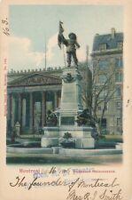 MONTREAL QC – Monument Maisonneuve – udb – 1905