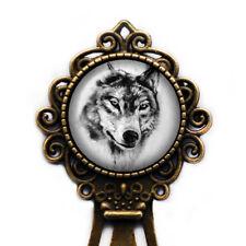 Wolf Head Bookmark