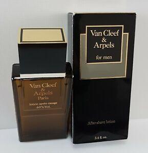 VAN CLEEF & ARPELS POUR HOMME AFTERSHAVE LOTION 100ml Splash (NEW BOXED)*Vintage