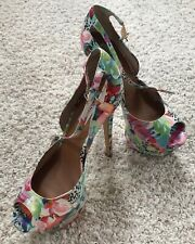 STEVE MADDEN LOWERY HIGH HEEL SHOES SIZE 8.5 US