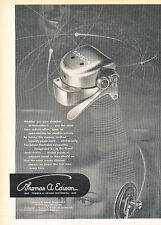 1947 Thomas Edison Voicewriter Recorder Vintage Advertisement Print Ad J517