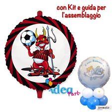 CENTROTAVOLA PALLONCINO MYLAR MILAN festa compleanno party addobbi calcio