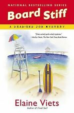Dead-End Job Mystery: Board Stiff 12 by Elaine Viets (2013, Hardcover)