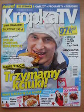 KAMIL STOCH on front cover Polish Magazine KROPKA TV 50/2014 in.Harrison Ford