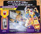 Hasbro Transformers G1 Retro Headmaster Weirdwolf Exclusive FACTORY FRESH MINT