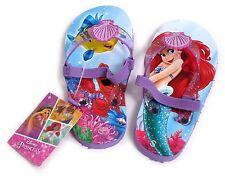 Junge Mädchen Little Mermaid Flip Flop Sandalen Strap Größe Uk 06.05 Eur 22-23 U