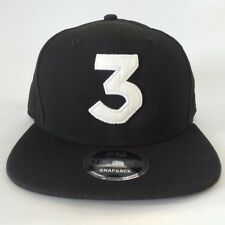 Chance The Rapper 3 New Era Cap Snapback Hat (Black) 100% 9fifty ON HAND!