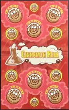 Dr. Stinky's Scratch & Sniff Stickers - Cinnamon Roll - Mint Condition!!