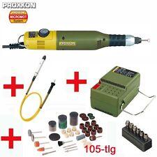 PROXXON Multitool Multifunktionswerkzeug MICROMOT 50 E + Netzgerät + Biegewelle