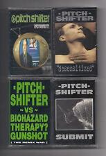 PITCH SHIFTER - Lot of 4 SEALED cassettes EARACHE Pitchshifter