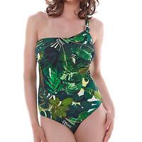 Fantasie Kuranda FS6125 W Underwired Balcony Bikini Top Deep Jungle 42F DEJ