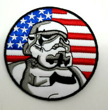 """Star Wars 3"""" USA Flag w Stormtrooper Patch- Mailed from USA (EBPA-SW-USA-S)"""