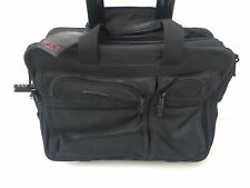 TUMI Alpha Wheeled Deluxe Expandable Briefcase Rolling Bag