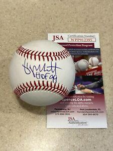 George Brett signed OML baseball w/ HOF 99 ** JSA **