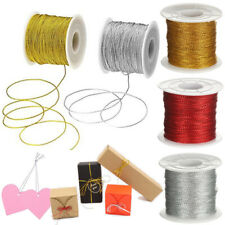 Tying Rope Packaging Thread Tinsel String Metallic Cord Christmas Strap Ribbon