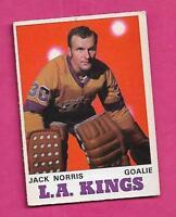 1970-71 OPC  # 165 KINGS JACK NORRIS ROOKIE EX CARD (INV# A9398)