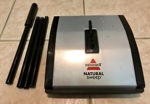 Bissell Natural Sweep Carpet and Floor Sweeper with Dual Rotating System
