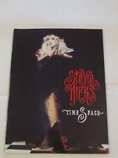 Stevie Nicks Timespace tourbook 1991 concert tour - Excellent condition