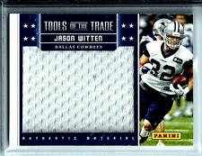 2013 Tools Of The Trade Authentic Materials Jumbo Patch Jason Witten Cowboys