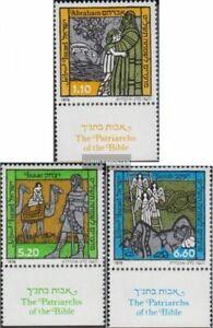 Israel 768-770 mit Tab (kompl.Ausg.) postfrisch 1978 Patriarchen der Bibel
