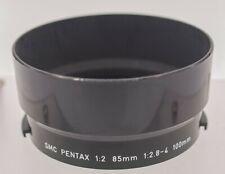 Rare - Asahi SMC Pentax 85mm F2.0 100mm F2.8 F4 Plastic Clip In Lens Hood Shade