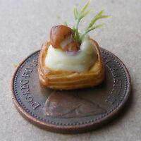 1:12 Scale Toast Topper On Toast Dolls House Miniature Food Accessory B