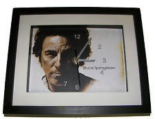 Bruce Springsteen. High quality framed print and clock